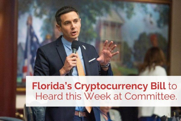 Florida's Cryptocurrency Bill to Heard this Week at Committee.